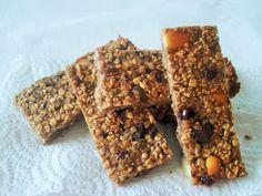 Dieta Sim, todos os Dias: Barras de cereais de aveia - Oat cereal bars