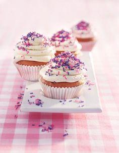 Vanilla-Cupcakes Rezept - [ESSEN UND TRINKEN]