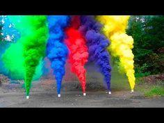 How To Make Vibrant Colored Smoke Grenades - Survival Skill Zone