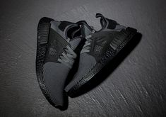 adidas NMD XR1 Triple Black Boost Release Date | SneakerNews.com