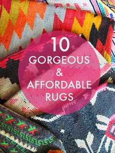 Tons of gorgeous rug searches that won't break the bank
