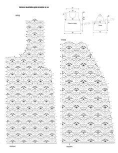 Πλεκτομηχανές με διαγράμματα και περιγραφές: διάτρητη πλεκτά πουλόβερ