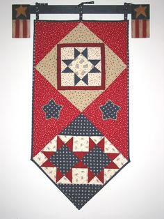 Celebrate Freedom Wallhanging~FREE Pattern | Quilt Girl www.deniseclason.com