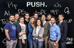 PUSH - è una civic startup no profit con sede a Palermo. Incoraggia attraverso progetti innovativi comunità, amministrazioni pubbliche e governi locali a essere parte attiva nel processo di rinnovamento urbano. PUSH. sviluppa soluzioni efficaci e sostenibili per spingere al cambiamento. #invasionidigitali alla GAM Palermo