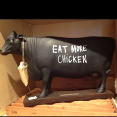 Chalkboard cow? Hell yes  God bless williams and sonoma
