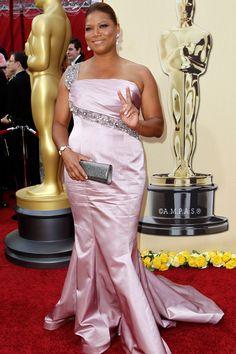 2010 - Queen Latifah - in a custom-made Badgley Mischka