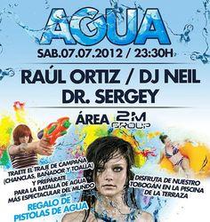 Agua Party - Fabrik (Madrid) - 07/07/2012