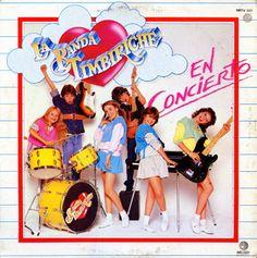 "Timbiriche ""La Banda Timbiriche: En Concierto"" LP (Front Cover)"