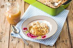 Uuniohrapuuro ja omenakeitto Potato Salad, Breakfast Recipes, Oatmeal, Potatoes, Ethnic Recipes, Food, Recipes For Breakfast, The Oatmeal, Rolled Oats