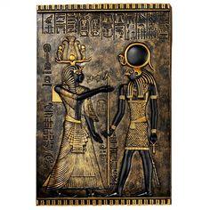 Design Toscano Egyptian Temple Stele Horus Plaque - WU68176
