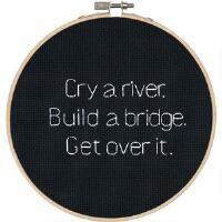 Dimensions® Cry a River Counted Cross-Stitch Kit