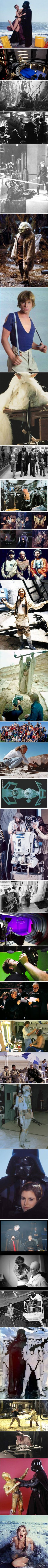 34 Star Wars Behind The Scene Photos You Might Not Have Seen Before (Part 2)