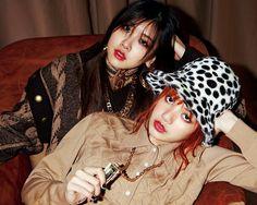 Rosé&Lisa • Blackpink  Nylon Japan  #ChaeLisa