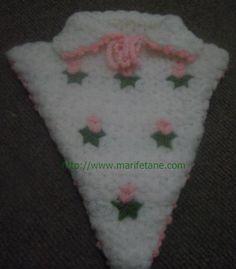 Yeni Kolay ve Güzel Üçgen Lif Modelleri crochet Washcloth