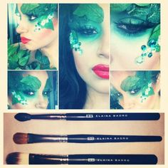 Poison ivy makeup maybe?