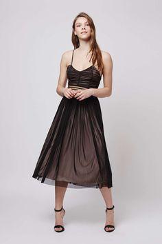 **Tatianna Midi Floaty Dress by TFNC - Topshop
