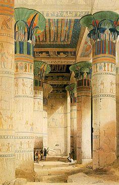イシス神殿にて その砂カタさんと埋まってまうで