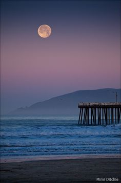 Pismo Beach, CA. I will live 30 minutes from here come June. <3
