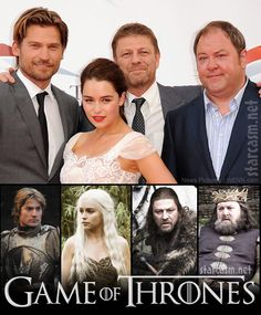 game of thrones cast pictures | PHOTOS Game of Thrones cast cleans up for 2011 Monte Carlo Television ...