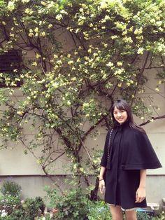 本日の投稿〜( ^ω^ ) 以前南波志帆さんに撮って頂いたもの☺ このコート、好きです。