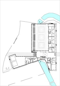 Gallery of Les Grands Moulins-Sport Complex / Ligne 7 Architecture - 17