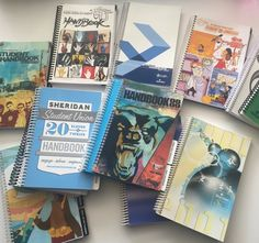 Flash back to our old Sheridan Student Union handbooks. 1998 to current year.