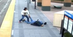 """(VIDEO) BRUTAL FOOTAGE of Unsuspecting Navy Veteran Knocked Out by Thug in """"Knockout Attack"""" The Navy veteran NEVER saw it coming INFOWARS.COM BECAUSE THERE'S A WAR ON FOR YOUR MIND http://www.infowars.com/brutal-footage-of-unsuspecting-navy-veteran-knocked-out-by-thug-in-knockout-attack-video/"""