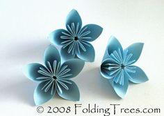 TUTORIAL KUSUDAMA FLOWERS (Flores de papel) - Arquievart's