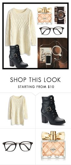 """""""Untitled #91"""" by hailey-tucker ❤ liked on Polyvore featuring Chicwish, Apt. 9 and Avon"""