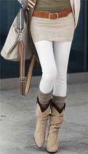 White Leggings Fashion