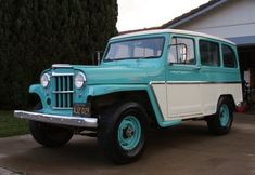 BaT Exclusive: Black-Plate 1962 Willys Wagon - love the paint, would be perfect pulling an old shasta