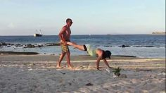 CruiseFit Travel Workout - Partner WOD: Wheelbarrow / Lunges / Broad Jumps