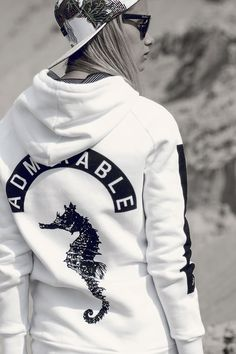 Admirable SEAS White Hoodie. Available at www.admirable.co