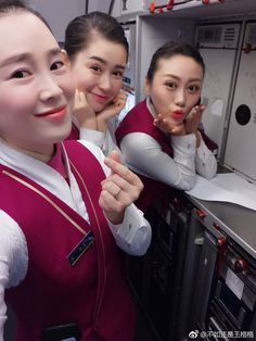 China Southern Airlines, Cabin Crew, Flight Attendant, Crossdressers, Leather Jacket, Female, Girls, Tights, Skirts