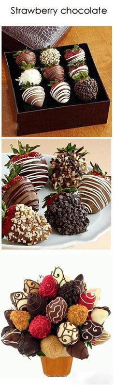 草莓巧克力 - 堆糖 发现生活_收集美好_分享图片