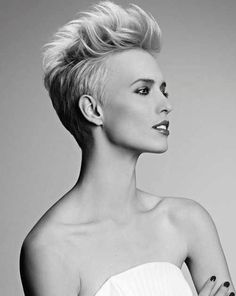 I love this haircut and style it's very classy yet edgy Colorful Fashion, Short Hair Styles, Hairdos, Bob Styles, Short Haircuts, Short Length Haircuts, Short Hair Cuts, Short Haircut Styles, Short Hairstyles