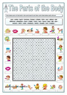 PARTS OF THE BODY WORDSEARCH worksheet Free ESL printable worksheets made by teachers 8 English Wordsearch Worksheets English Wordsearch Worksheets - There are lots of explanations why you. Kids English, English Words, English Lessons, Learn English, English English, Education English, Teaching English, English Activities, Education Quotes For Teachers