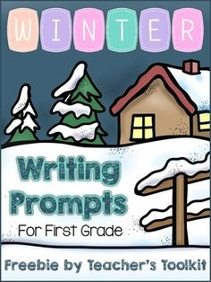 {Freebie}Winter Writing Prompts