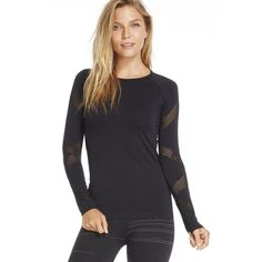 NWOT Long sleeve workout tee with laser cut detail Long sleeve workout tee with laser cut detailing; ordered and has sat in my closet for a while now. Cute but too hot to wear in South florida. In perfect condition and material is so soft and comfy. ❌NO TRADES ❌NO LOWBALLING ❌ NO PAYPAL ✅ OFFERS WELCOME THROUGH OFFER BUTTON ✅ DISCOUNT ON BUNDLES Fabletics Tops Tees - Long Sleeve