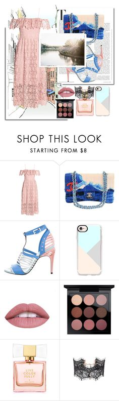 """""""Hello MAY """"2"""" by wolf-girl97 ❤ liked on Polyvore featuring H&M, Chanel, Fendi, Casetify, L.A. Girl, MAC Cosmetics, Kate Spade and Witchery"""