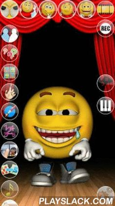 Talking Smiling Simon  Android App - playslack.com , Talk with Simon the Talking smile. He answers with his funny voice and reacts to what you say or your touch. With 4 exciting inside games and many levels to play. It contains also the amazing sound board!Simon is a not very well mannered smiley that acts in a cool way. Play with him and find out more about his weird character. In case you should not like him, you will have the possibility to defend yourself by throwing a big fish on his…