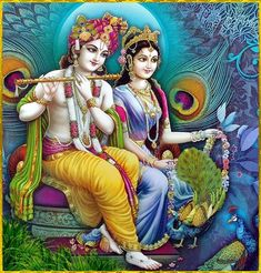 40 Most Stunning Radha Krishna Images - Vedic Sources Radha Krishna Holi, Krishna Leela, Jai Shree Krishna, Cute Krishna, Lord Krishna Images, Radha Krishna Pictures, Krishna Radha, Krishna Photos, Radha Rani