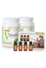 dōTERRA Vegan Slim  Sassy New You Kit - Includes Vegan Lifelong Vitality Pack, V Shakes, and Slim  Sassy Oils