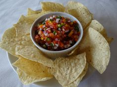 My Garden Fresh Pico de Gallo recipe is made with a rainbow of vegetables taken right from the bounty of summer!