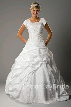 Modest dress!