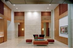 Imagine walking into this lobby for your gorgeous apartment. SmithGroup