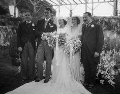 John Wayne married socialite Josephine Saenz on June 24th, 1933 at the home of actress Loretta Young.