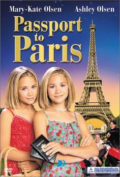 passport to paris. I had all of their tween movies. #90s