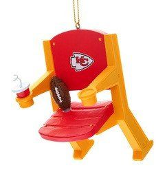 Kansas City Chiefs Stadium Chair Ornament