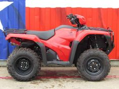 New 2016 Honda FourTrax Foreman 4x4 ES ATVs For Sale in Texas. 2016 Honda FourTrax Foreman 4x4 ES, Does not include $350 destination and $395 prep 2016 Honda® FourTrax® Foreman® 4x4 The ATV That Gets The Job Done. You probably have a go-to person in your life someone that you can count on in a pinch, the one you can count on when you need something done, done right, done now, and done without excuses. On the jobsite or the shop floor, it s probably the shop foreman. And in the world of…